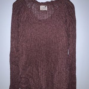 Pacsun rosy knit sweater